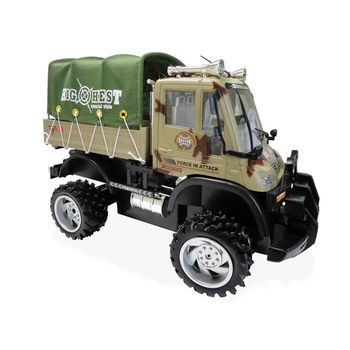 camion militaire radioco tout terrain camouflage achat vente voiture camion cdiscount. Black Bedroom Furniture Sets. Home Design Ideas