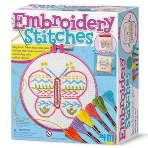 KIT DE COUTURE Kit broderie pour enfant Coffret de loisir créatif