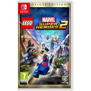 JEU NINTENDO SWITCH Lego Marvel Super Heroes 2 Edition Deluxe Jeux Swi