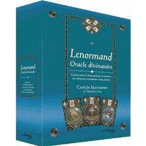 LIVRE PARANORMAL Lenormand Oracle divinatoire
