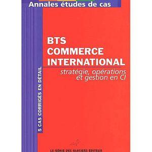 MANUEL BTS Stratégie, opérations et gestion en commerce inter