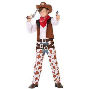 Livre 6-9 ANS Déguisement Cowboy - Enfant - 7/9 ans (120 à 132 c