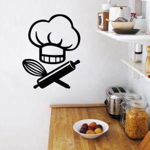 STICKERS Créative Dessin animé Stickers muraux pour Cuisine