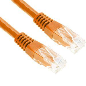 CÂBLE RÉSEAU  G-Shield 2m Câble Ethernet Cat6 RJ45 LAN Réseau Pa