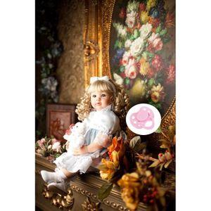 POUPÉE 60 cm Silicone Vinyle Reborn Baby Doll Réaliste No