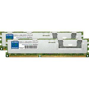 MÉMOIRE RAM 8Go (2 x 4Go) DDR3 1333MHz PC3-10600 240-PIN ECC R
