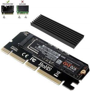 CARTE CONTROLEUR 6amLifestyle M2 NVME PCIe Adaptateur pour SSD x16