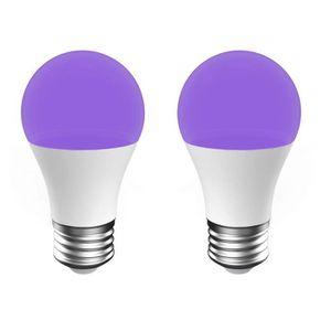 AMPOULE - LED Onforu 2 Ampoule UV, 7W Ampoule Lumière Noire, E27