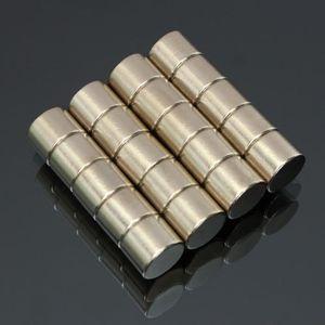 AIMANTS - MAGNETS 20pcs Aimants NeodymE Cylindre Puissant Magnetique
