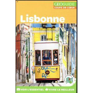 GUIDES MONDE Livre - GEOGUIDE ; Lisbonne (édition 2018)