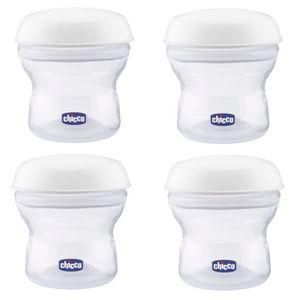CONSERVATION REPAS CHICCO 4 Récipients pour lait maternel
