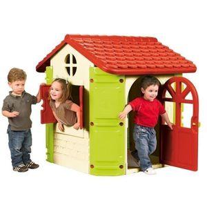 MAISONNETTE EXTÉRIEURE FEBER HOUSE Maison Plastique Enfant