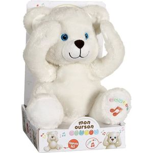PELUCHE GIPSY Peluche Ourson Coucou 25 cm