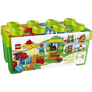 ASSEMBLAGE CONSTRUCTION LEGO® DUPLO 10572 Grande Boite du Jardin en Fleurs