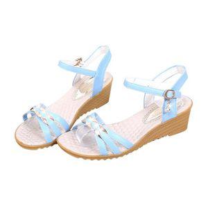 TONG Femmes Mode Slope d'été avec des sandales tongs Mo