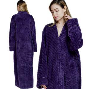 Robe De Chambre Polaire Femme