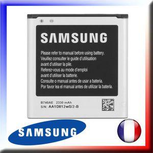 Batterie téléphone Batterie Originale B740AE pour SAMSUNG SM-C101 Gal