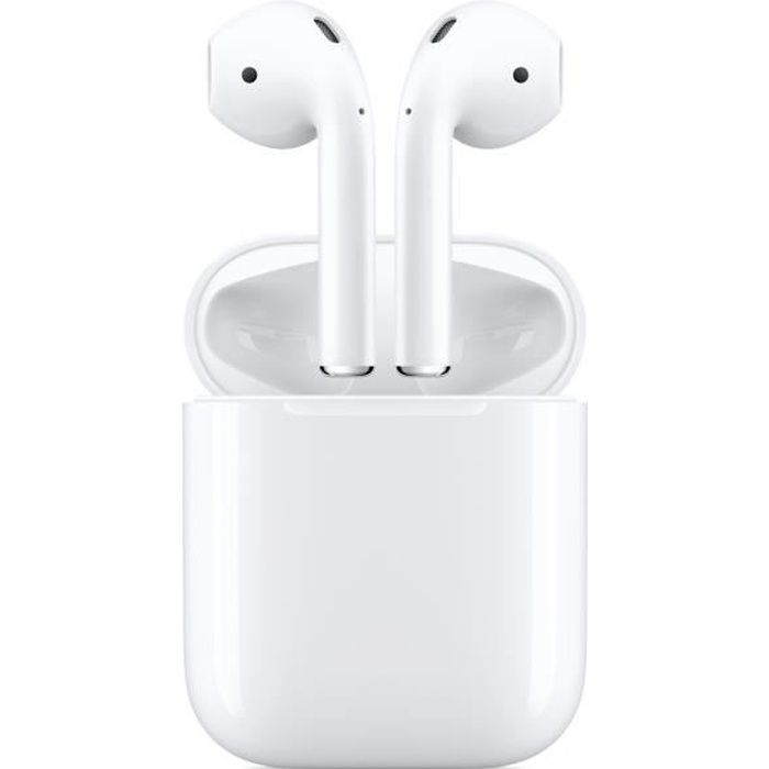 AirPods 2 avec chargeur filaire