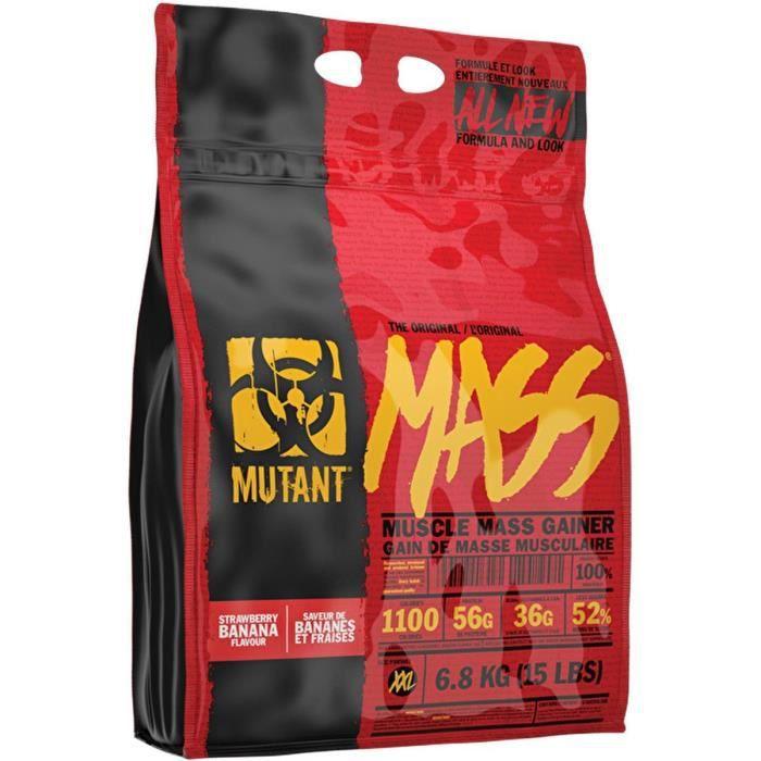 Mutant Mass (6,8 kg) PVL Nutrition Parfum frais…