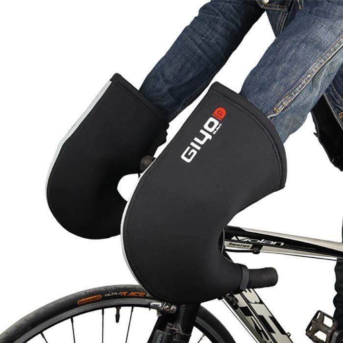 Gants de vélo d'hiver Route VTT Bar moufles Guidon Mitts étanche @sahahhj1488