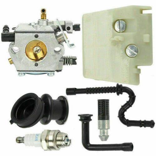 Jeu de bougies d'allumage de filtre à air de carburateur pour Stihl 024 026 MS240 MS260 # Walbro WT-194