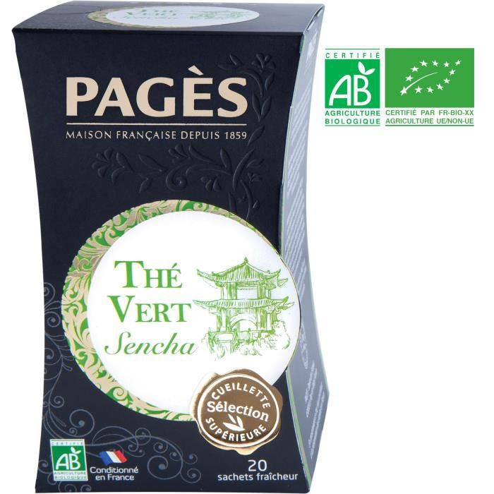 PAGES Thé Vert - Bio