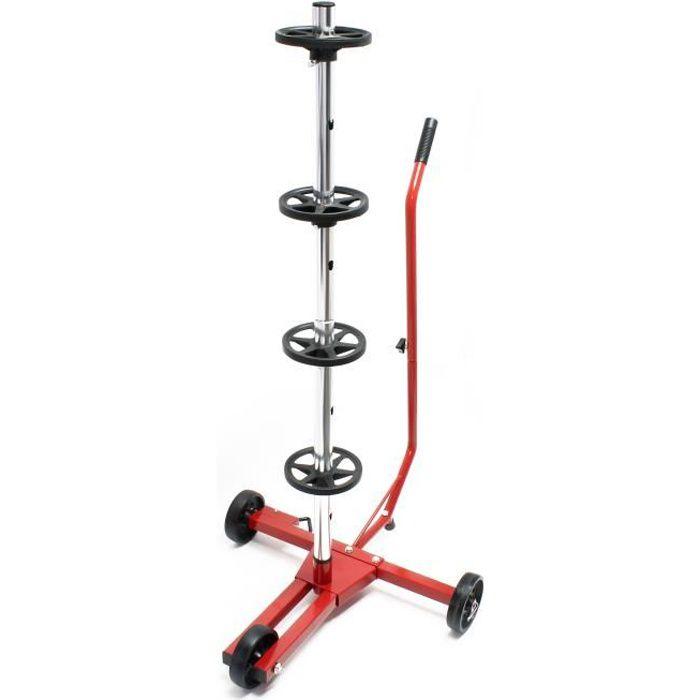 Arbre de rangement pour jantes Mobile Support pour pneux Voiture Rangement de jantes - 51457