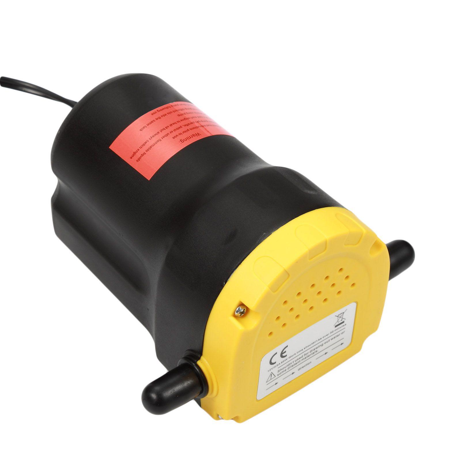 Pompe de vidange huile moteur par aspiration 12V Gr60016