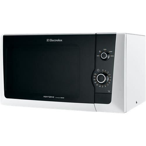 Electrolux EMM21000W, 18,5 L, 800 W, Blanc, Poussée, 27 cm, 1250 W