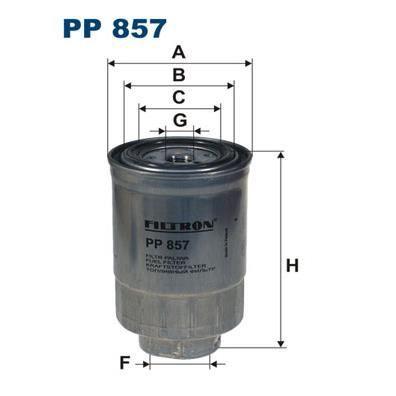 FILTRON Filtre à carburant PP 857