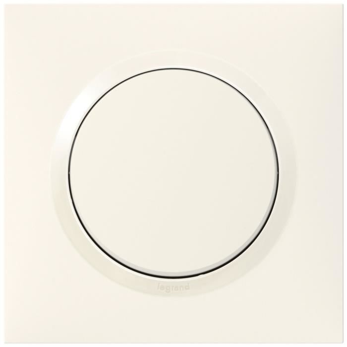 LEGRAND - Poussoir 6A blanc complet dooxie