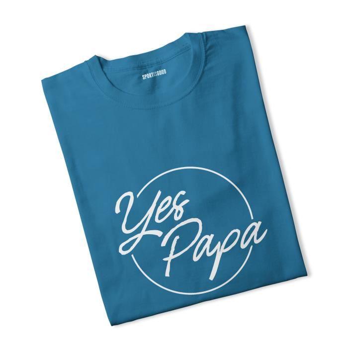 T-shirt fille Yes Papa