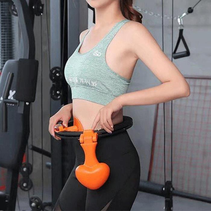 Cerceau de comptage réglable, anneau de formation de taille de remise en forme de perte de poids féminin