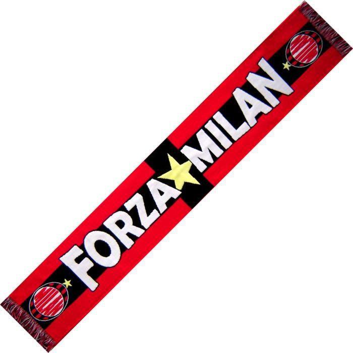 ECHARPE MILAN AC Italie No drapeau maillot fanion casquette ...