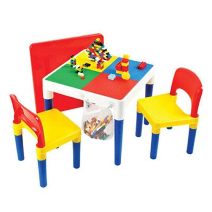 lego oxford bloc table compatible 2 en 1 table duplo. Black Bedroom Furniture Sets. Home Design Ideas