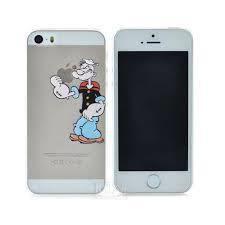 coque iphone 5 5s disney transparente popeye tient