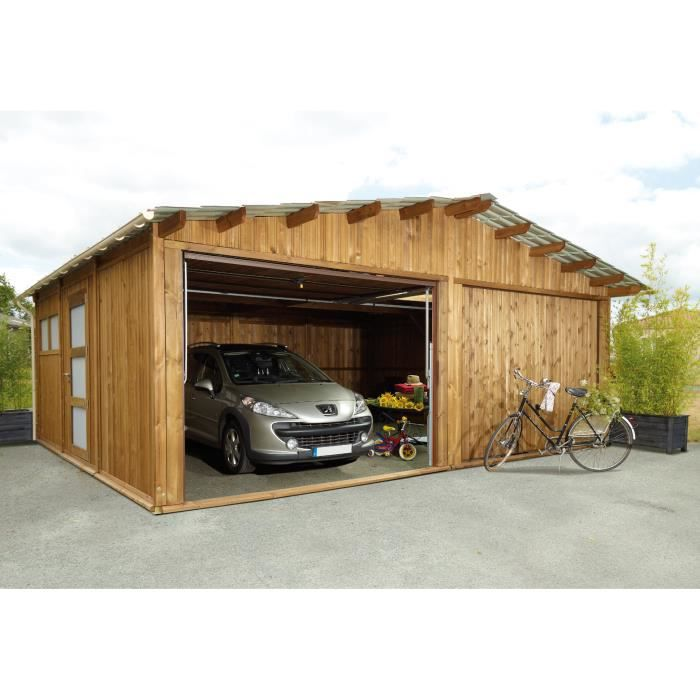 garage bois 40 m achat vente garage garage bois 40 m. Black Bedroom Furniture Sets. Home Design Ideas