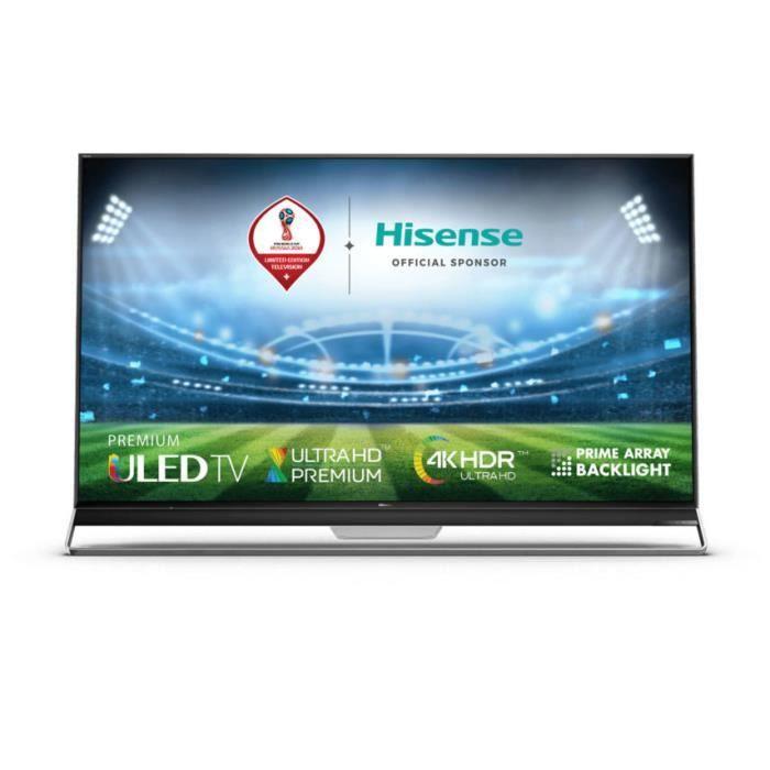 """Téléviseur LED Hisense H65U9A, 165,1 cm (65""""), 3840 x 2160 pixels"""