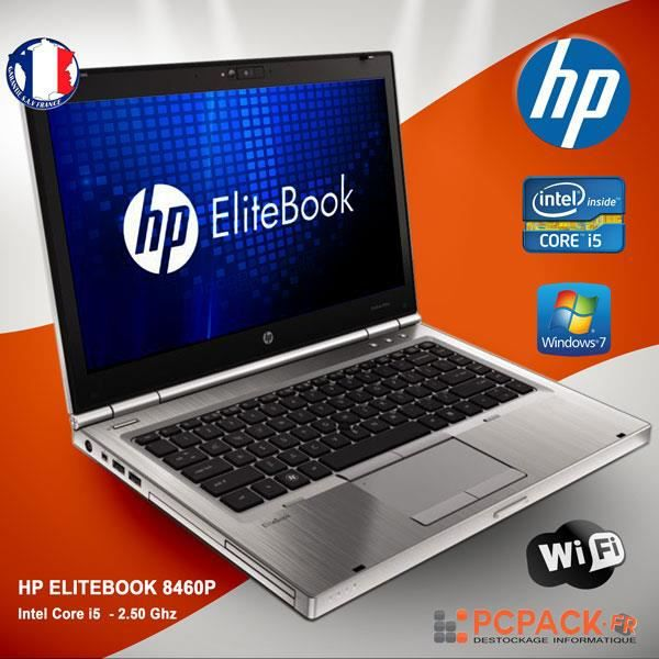 ORDINATEUR PORTABLE HP ELITEBOOK 8460P RAM 4GO HDD 1000GO