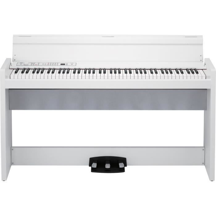 claviers pianos numeriques lp380 wh korg pas cher achat vente clavier musical cdiscount. Black Bedroom Furniture Sets. Home Design Ideas