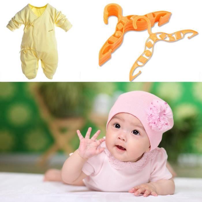 CINTRE lot de 80 Vêtements Cintres pour Bébé Durable En P