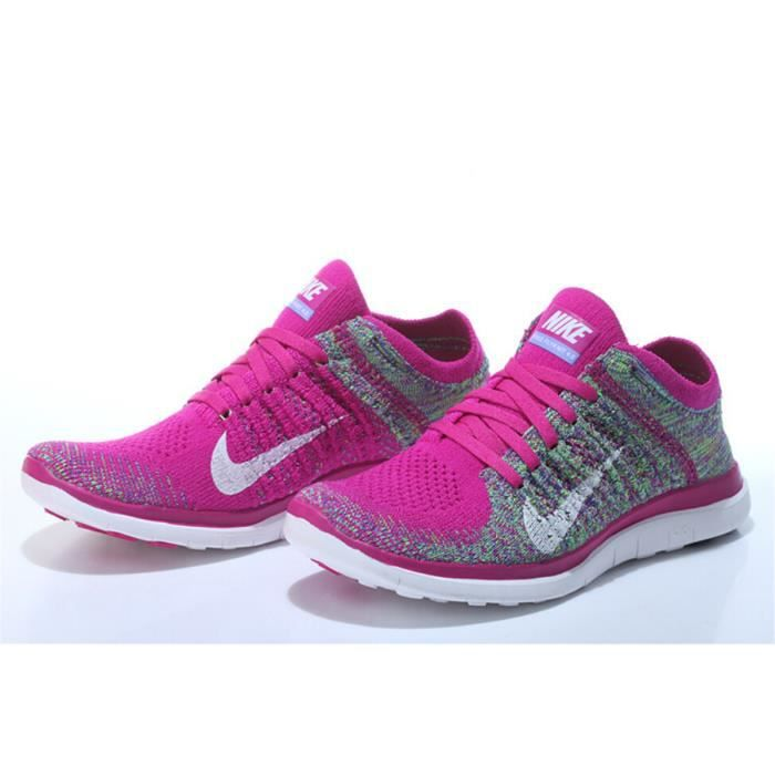 best authentic ea42a d27cc ... closeout basket hommes femmes nike free flyknit 4.0 baskets sport 77234  ee84a