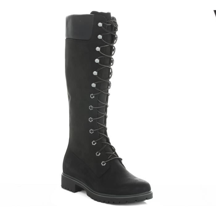bottes timberland noire femme