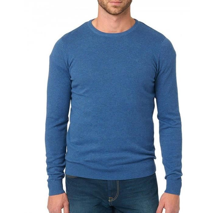 Tom Tailor Basic Crew Neck Sweater Jumper 1gv2jt Taille 34 Bleu Bleu
