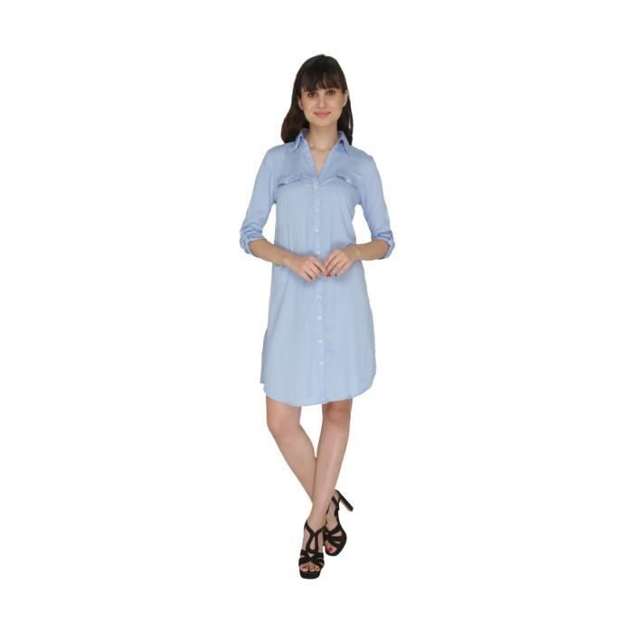 Womens Button Down Dress 1UZN2V Taille-34
