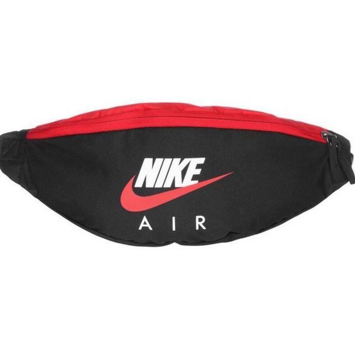 Banane Homme Noire et Rouge Nike Air