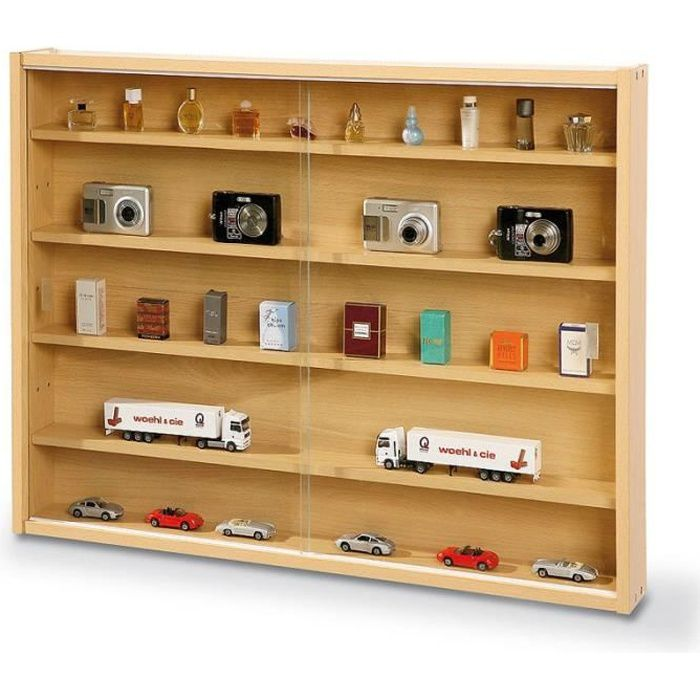 paris prix vitrine murale pour miniatures collection. Black Bedroom Furniture Sets. Home Design Ideas