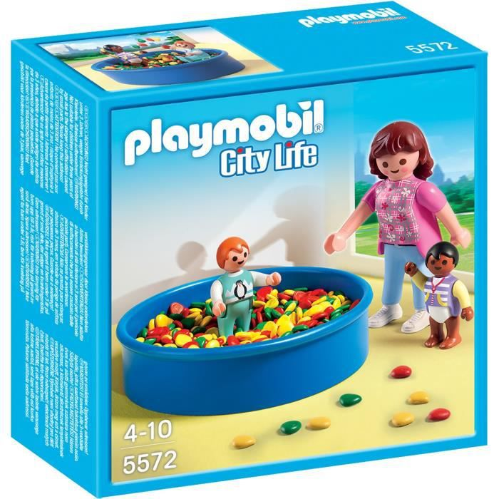 UNIVERS MINIATURE PLAYMOBIL 5572 - City Life - Piscine à Balles pour