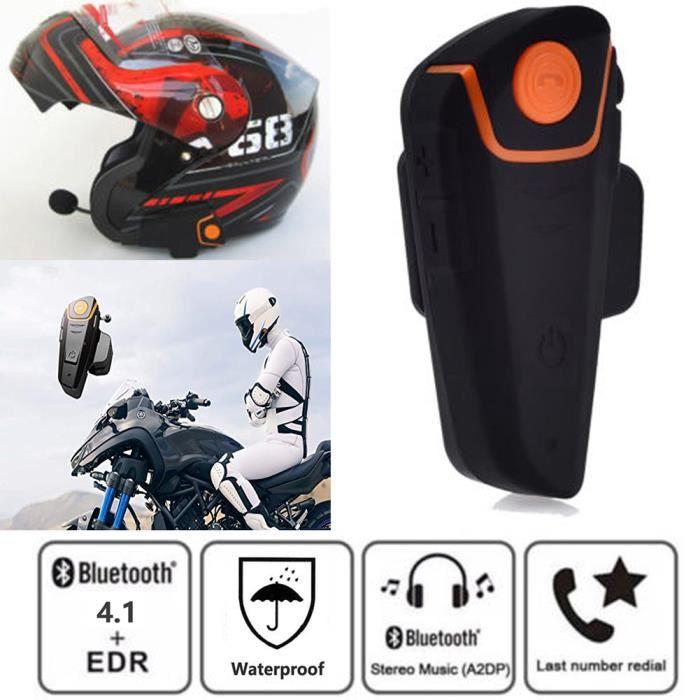 INTERCOM MOTO Intercom Moto Bluetooth 1 Pcs,BT-S2 Kit Oreillette