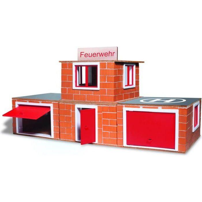 ASSEMBLAGE CONSTRUCTION Jeu de construction enfant en brique ciment Casern